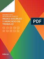 Informe Infoempleo Adecco Sobre Mercado de Trabajo y Redes Sociales 2017