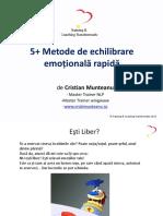 5+ Metode de Echilibrare Emotionala Rapida