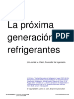 Calm JM, The Next Generation of Refrigerants (in Spanish), ACR-Latinoamerica, 2008-2009.pdf