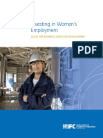 Investing in Womens Employment