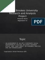 BP CSR