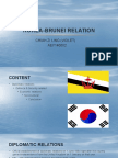 Korea Brunei Relation