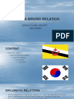Korea Brunei Relation