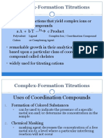 9-Complex Formation Titrations