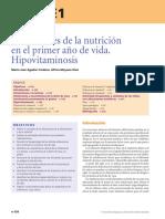 Alteraciones de la nutricion