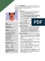 Resume OnlineMapAnalyst