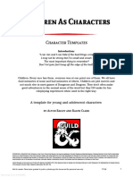 Children as Characters