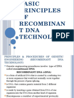 Basic Principles of Recombinant DNA Technology [173865]