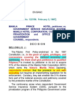 8. Manila Prince Hotel vs. Gsis