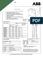 Abb Metal Sd (1tvs013166p0300) Rev1