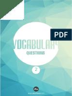 Kelime Soruları 2(1)