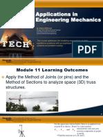 63b4082a87137a6a12b82a9f733dd296 Module 11 Applications in Engineering Mechanics PPT