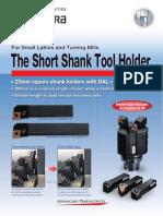 Short Shank Holders