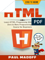 HTML Learn HTML With Ultimate Zero to Hero Programming Crash Course for Beginners - {Llife_me}