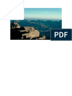 El Horeb Vista Del Djebel Musa Una de Las 2 Cumbre Del Macizo Del Sinaí