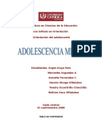 Adolescencia Media