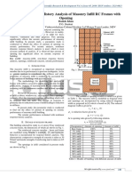 Nonlinear Response History Analysis of Masonry Infill RC Frames with Opening