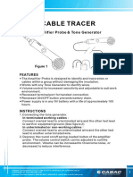 Top Tronic Telephone Cable Tracer T180