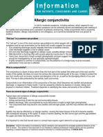 ASCIA PCC Allergic Conjunctivitis 2015
