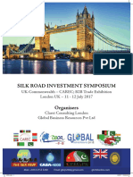 SILK ROAD INVESTMENT SYMPOSIUM  London. 11-12 July 2017