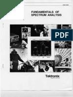 Fundamentals of Spectrum Analysis