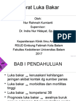 PPT Luka Bakar