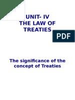 Law of treaties