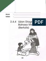 Ujian Diagnostik BM Bertulis