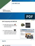 S4421 Gpu Computing With Matlab