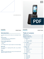 Alcatel-One Touch 2012g-2012d User Manual