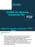 SCADA for Remote Industrial Plant