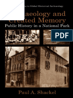 Shakel - Archaeology and Created Memory ~ Public History in a National Park