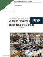 La Teora Marxista de La Dependencia Revisitada a12379