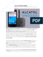 Rom Stock Alcatel OT M