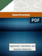 Assertiveness Sample