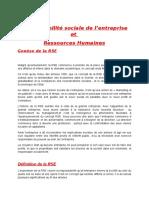 Responsabilité Sociale Entreprise (1)
