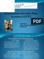 Diferencias Entre l.o.t. y l.o.t.t.t.