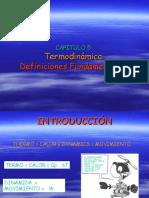 TERMO2005 CAP5 Definiciones Fundamentales Abril 2005