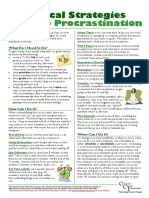 Procrastination Flyer_Practical Strategies