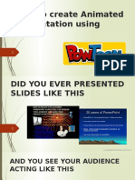Powtoon - Tutorial