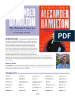 ALEXANDER HAMILTON TEACHING GUIDE