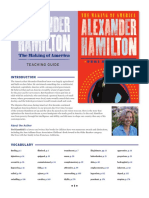 ALEXANDER HAMILTON TEACHING GUIDE