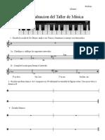 Evaluacion Teoria Musical