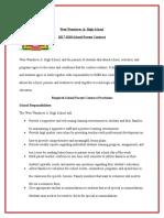 school-parent contract