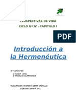 1 Introduccion a La Hermeneutica