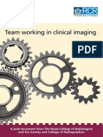 Team Working in Clinical Imaging