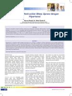 Hubungan Obstructive Sleep Apnea Dengan Hipertensi