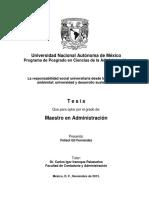 Desarrollo Sustentable y Universidad