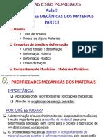 Propriedade Mecânica Dos Materiais - Parte I