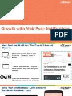 Dynamic Web Push Notifications